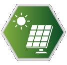 Solar Panel from Battery Orbit